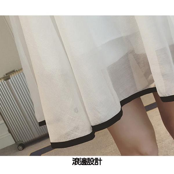 空靈氣質輕柔雪紡背後心機設計孕婦洋裝 兩色【COH600402】孕味十足 孕婦裝