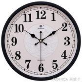 鐘表掛鐘客廳靜音時尚裝飾大氣石英鐘表掛表創意歐式簡約家用臥室 莫妮卡小屋 IGO