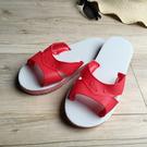 台灣製造-橡膠H拖-藍白拖鞋 - 正紅 ...