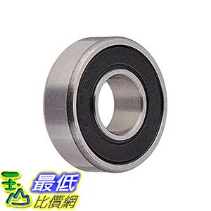 [106美國直購] Ten(10) R6-2RS Sealed Bearings 3/8x7/8x9/32 Ball Bearings/Pre-Lubricated(Pack of 10)