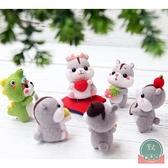 圣誕禮物材料包可愛倉鼠羊毛氈戳戳樂【福喜行】