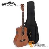 Sigma Baby吉他 ▻ Sigma TM-15E 可插電小吉他/旅行吉他 34吋(TM15E 全桃花心+Fishman拾音器/面單板)
