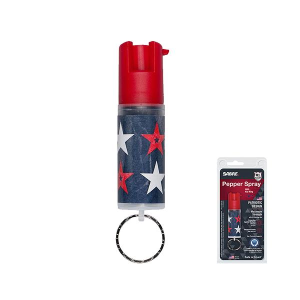 SABRE沙豹防身噴霧 輕量鑰匙圈型-愛國者 (KR-14-PAT-02)