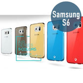 SAMSUNG 三星 S6 TPU透明保護殼 + 鋼化保護貼 手機殼 保護膜 手機套 螢幕貼 鋼化膜