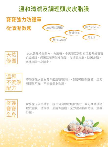 Wild Ferns 麥蘆卡蜂蜜寶寶/兒童洗髮沐浴精140ml  (無淚配方) by parrs