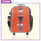 【UnMe】高年級拉桿後背兩用書包 橘紅 3308-R (5~6年級)  (OS小舖)