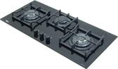 TEKA 德國LUX 86 玻璃三口瓦斯爐【零利率】