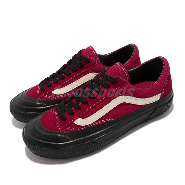 Vans 休閒鞋 Stlye 36 SF Rubber Dip 紅 黑 麂皮 男鞋 【ACS】 VN0A3ZCJ2VR