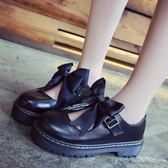 lolita小皮鞋春軟妹女鞋厚底日系瑪麗珍女單鞋可愛圓頭學生娃娃鞋優品匯