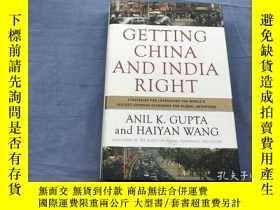 二手書博民逛書店Getting罕見China and India Right: