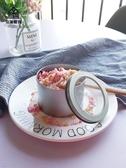 豆乳千層蛋糕鐵盒烘焙包裝慕斯冰淇淋盒子圓形馬口鐵甜品罐子
