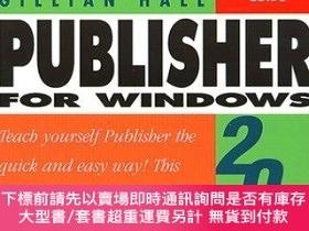 二手書博民逛書店Publisher罕見2000 Windows (Visual QuickStart Guide)-Publish