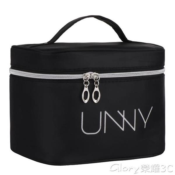 化妝包便攜化妝包大容量多功能小號韓國簡約少女心防水隨身收納品袋網紅 榮耀 618