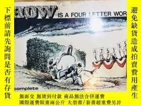 二手書博民逛書店Snow罕見is a four letter wordY7614