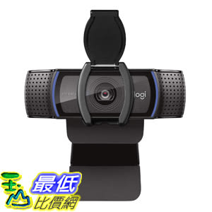 [8美國直購] Logitech C920S 網路攝影機 Pro HD Webcam 1080P with Privacy Shutter