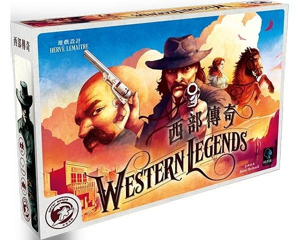 『高雄龐奇桌遊』 西部傳奇 Western Legends 繁體中文版 正版桌上遊戲專賣店