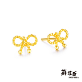 蘇菲亞SOPHIA - G LOVER系列幸運結黃金耳環