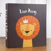寶寶兒童成長記錄紀念冊插頁式影集大容量混裝5/6/7寸家庭相冊本