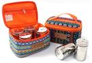 民族風-調味罐收納袋/ 調味罐收納包 野餐包 收納袋 盥洗包 炊具袋 露營收納