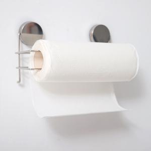 不鏽鋼吸鐵捲筒紙巾架 D0001