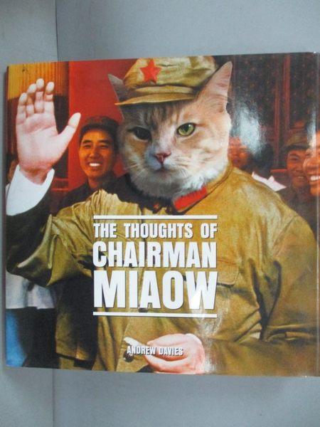 【書寶二手書T4/原文小說_KSJ】The Thoughts Of Chairman Miaow_Davies, And