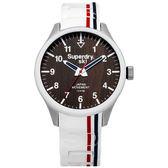 ~台南時代鐘錶Superdry 極度乾燥~美式和風文化衝擊潮流腕錶SYG185W 矽膠帶深