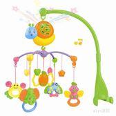 0-3個月新生嬰兒玩具益智音樂旋轉搖鈴 YX2894『miss洛羽』TW