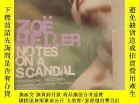 二手書博民逛書店Notes罕見on a Scandal (the MAN BOO