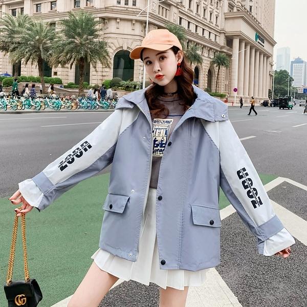 簡約女外套韓版外套 秋季開衫夾克外套 百搭時尚女生外套 學院風洋氣女士外套 學生潮流女生外套