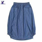 【三折特賣】American Bluedeer - 側斜邊抽皺裙 秋冬新款