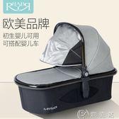 嬰兒手提籃 babyruler嬰兒手提籃新生兒睡籃 便攜式寶寶搖籃床外出防紫外線igo CY潮流站