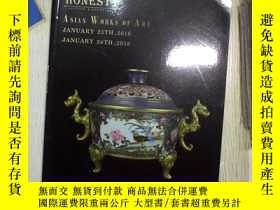 二手書博民逛書店HONESTY罕見ASIAN WORKS OF ART JANU
