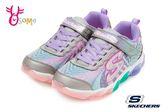 SKECHERS JELLY BEAMS 運動鞋 女童 電燈鞋 慢跑鞋 Q8225#白彩◆OSOME奧森童鞋
