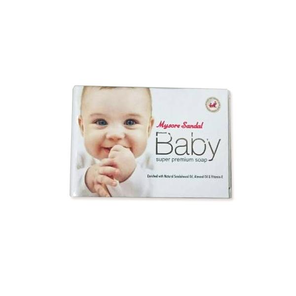 印度 Mysore 邁索爾 檀香嬰兒柔膚皂 Baby Soap 75g 施巴 嬌生【小紅帽美妝】