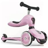 奧地利 Scoot&Ride Cool 飛滑步車/滑板車(玫瑰粉色)