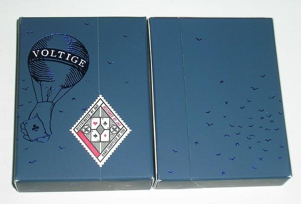 【USPCC撲克館】Dan&Dave Voltige Playing Cards DECK Parisian Blue