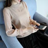 短款薄款針織衫打底衫顯瘦上衣春裝潮