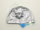*日光部屋* arena (公司貨)/ASS-0606-SLV 2WAY 舒適矽膠泳帽