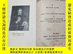 二手書博民逛書店the罕見lady of the lake英文原版Y11477