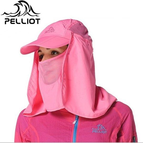 我愛買#Pelliot 三折疊鴨舌帽易收納帽防曬帽(UP50+)三折帽口袋帽遮陽帽休閒帽折疊帽棒球帽登山帽