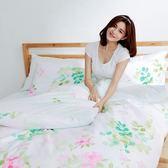 [SN]#L-UB021#細磨毛天絲絨5x6.2尺標準雙人床包+枕套三件組-台灣製(不含被套)