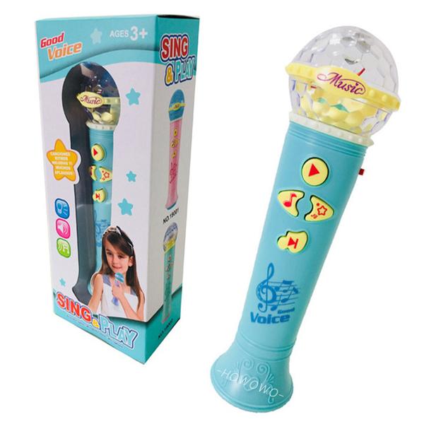 歡唱學習麥克風 聲光投影 麥克風 卡拉OK 兒童麥克風 音樂麥克風 音樂玩具 9004