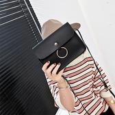 側背包 2018新款女包時尚圓環小方包手機包小包零錢包包斜挎包單肩包迷你