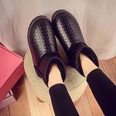 雪靴 2019冬季新款雪地靴女短靴加絨加厚保暖防水韓版百搭學生短筒棉鞋