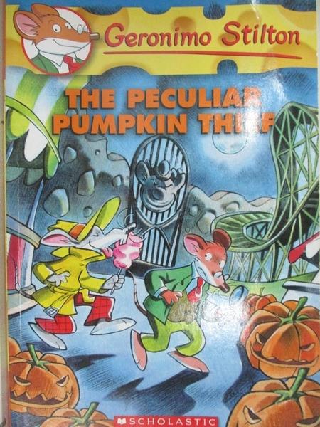 【書寶二手書T6/原文小說_HA8】The Peculiar Pumpkin Thief_Stilton, Geronimo