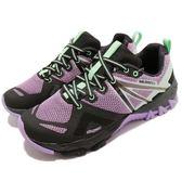 Merrell 戶外鞋 MQM Flex GTX 紫 黑 Gore-Tex 防水 越野 休閒鞋 運動鞋 女鞋【PUMP306】 ML50166