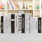 裝飾書 現代英文假書裝飾仿真書道具書樣本書房裝飾書擺設創意擺件書【快速出貨八折下殺】