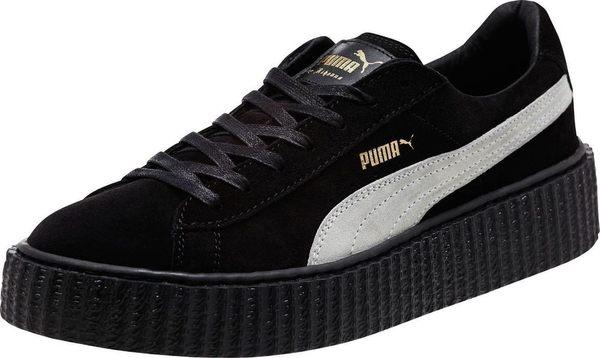 PUMA SUEDE CREEPER X RIHANNA 麂皮增高厚底鞋 黑