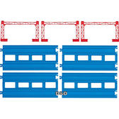 《 TAKARA TOMY 》鐵路軌道系列 -NR-04複線直軌╭★ JOYBUS玩具百貨