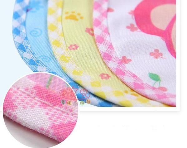 ◎愛寶貝◎ X124431優質沐童鲍勃騎士竹纖維可愛動物造型4層紗布墊背巾 吸汗巾/可挑款